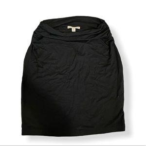 New Black Gap Maternity Skirt